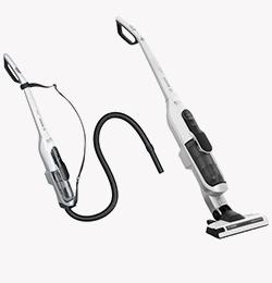 Athlet Upright Cordless Vacuum Cleaner – White