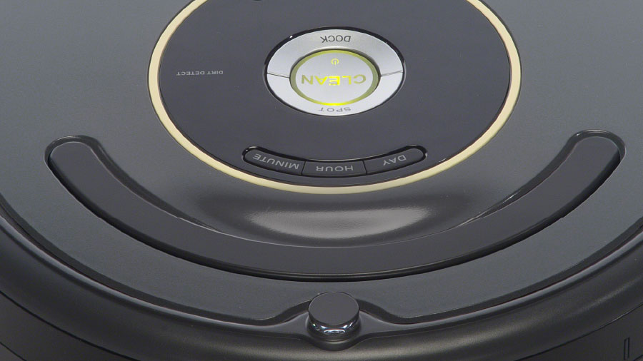 iRobot Roomba control buttons